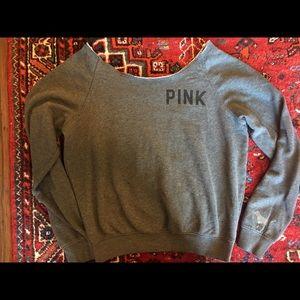 V.S. PINK Off the Shoulder Sweater